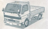 MAZDA T3000 T3500 T4000 REPAIR MANUAL TRUCK BUS