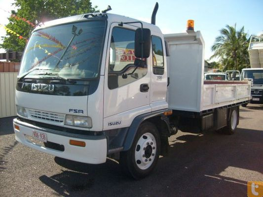 Product picture Isuzu FSR FVR FTR 1998 On Repair Manual