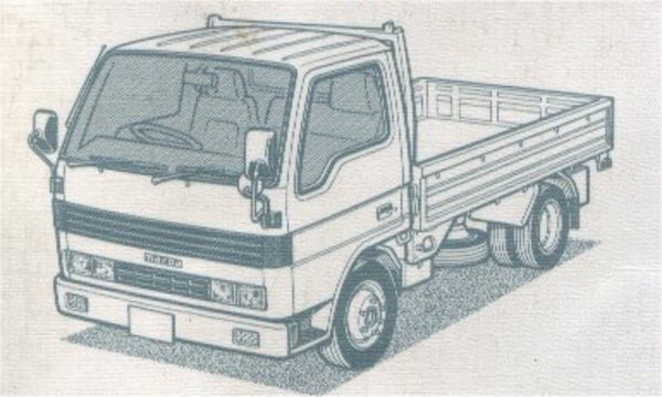 Product picture MAZDA T3000 T3500 T4000 REPAIR MANUAL TRUCK BUS